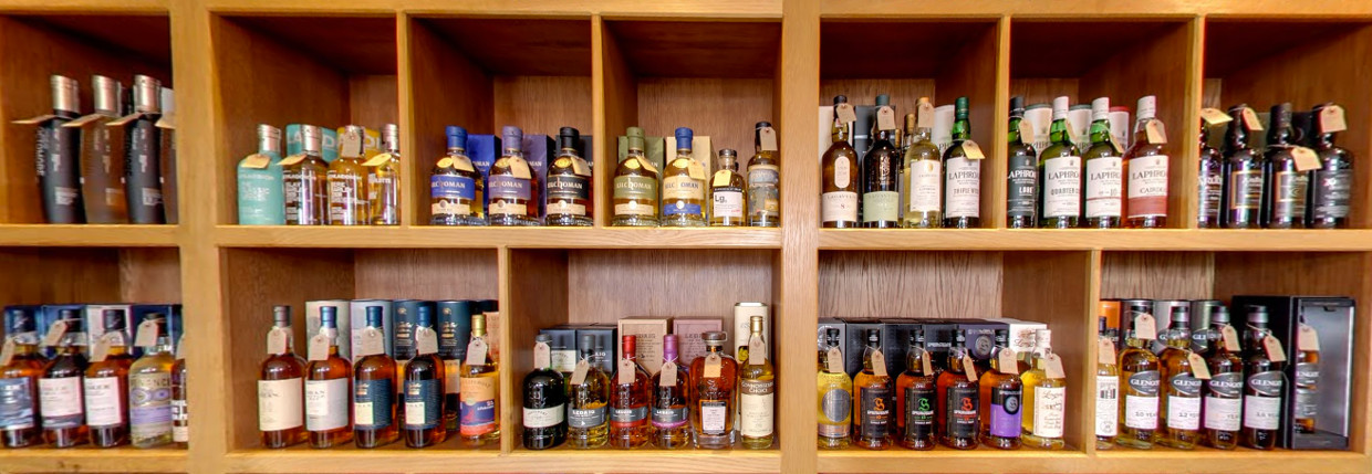 whisky shops and retailers